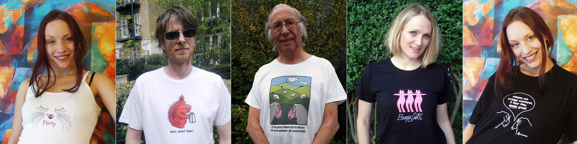 Geoffrey Hart T-Shirts