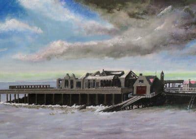 Birnbeck Pier (Stormy), Weston-Super-Mare