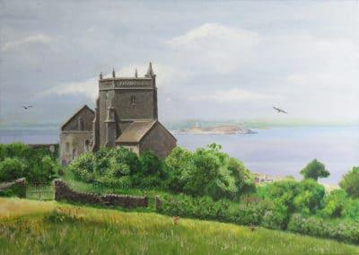 Old Church of Saint Nicholas, Uphill