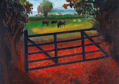 Over the farm gate