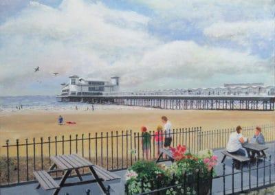 Beach by The Grand Pier Weston-Super-Mare