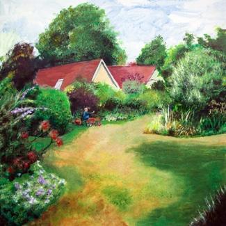 Winscombe garden