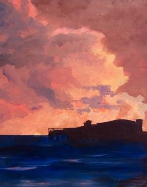 Dawn over The Grand Pier