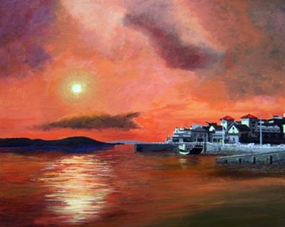 Sunset Over Knightstone