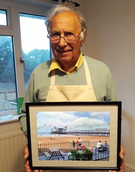 Artist in Somerset