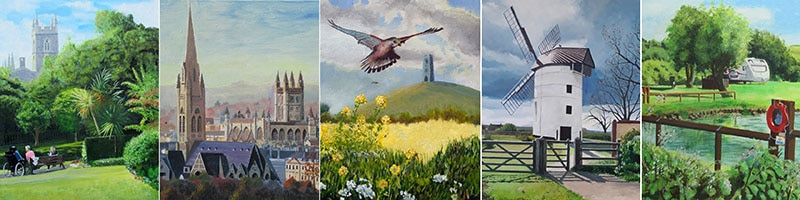 Paintings of Somerset